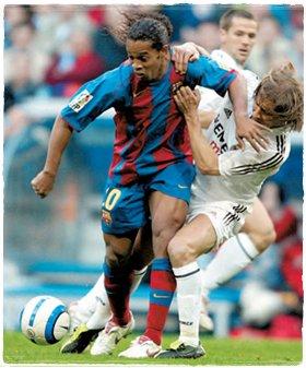 Роналдиньо и Сальгадо