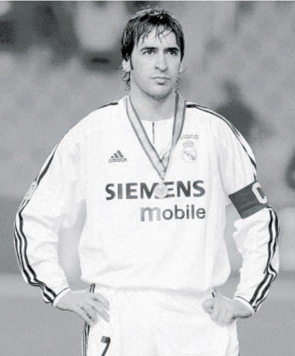 Рауль после поражения в финале Копа дель Рей от Сарагосы. 17-03-2004