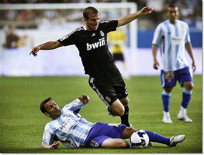Малага - Реал Мадрид: Ван Дер Варт