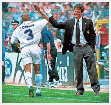 Роберто Карлос и Фабио Капелло 96/97