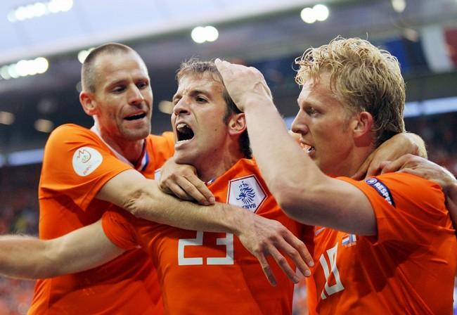 Ван Дер Варт в сборной Голландии на Евро-2008