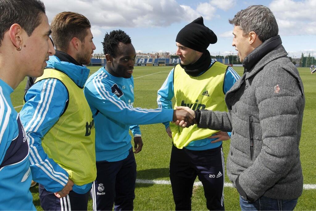 Эрнан Креспо несколько лет назад уже посещал тренировки Мадрида