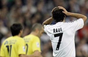 Рауль в матче с