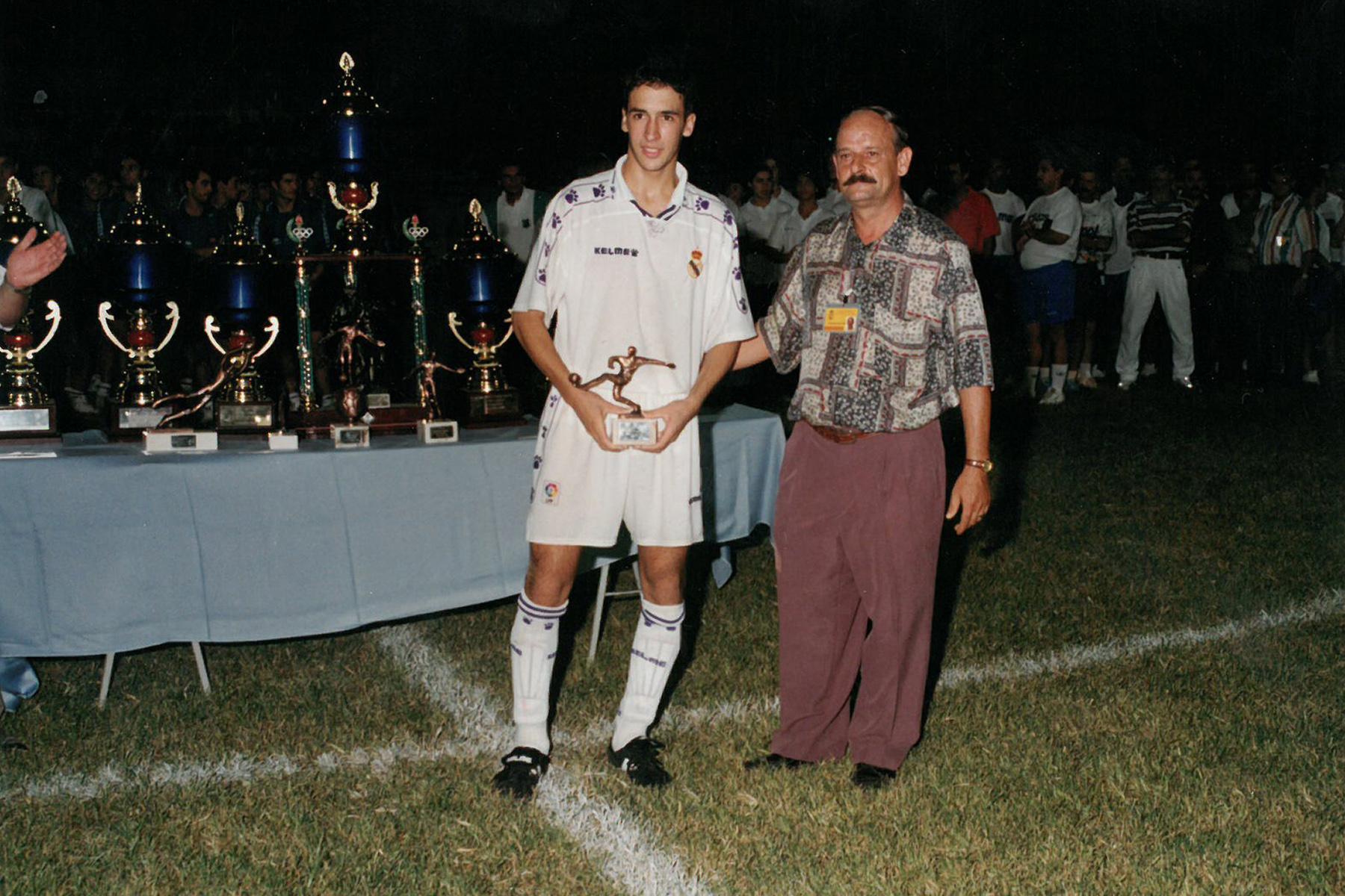 Рауль Гонсалес в 1994 году