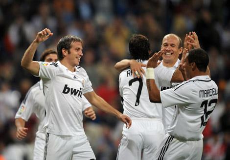 Реал мадрид состав 2008 год