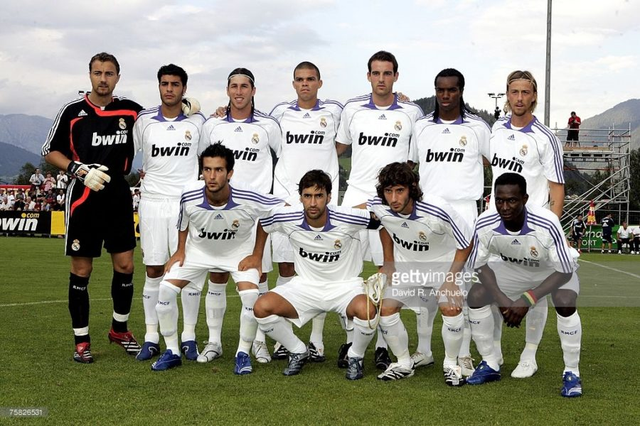 Реал мадрид 2007