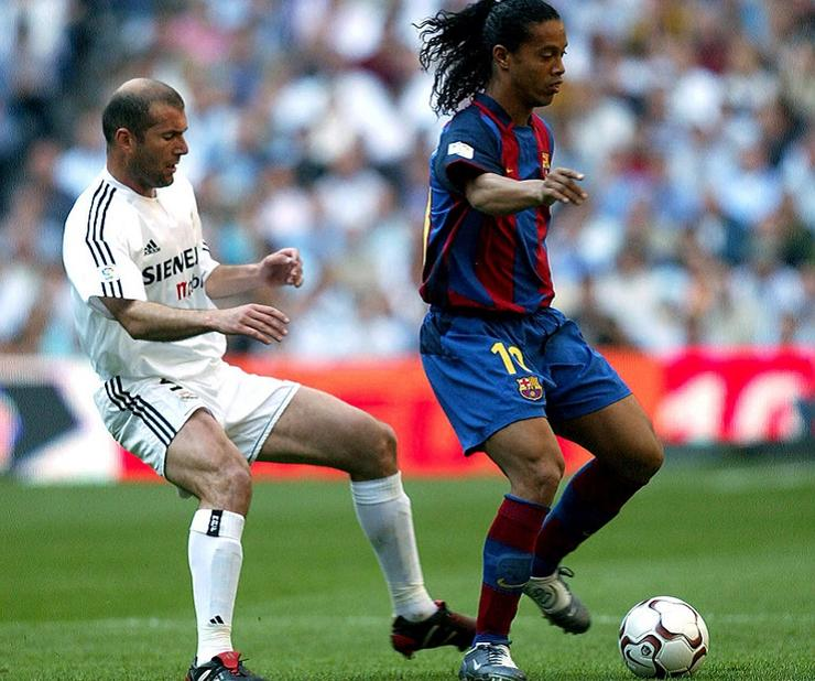 Зидан против Роналдиньо