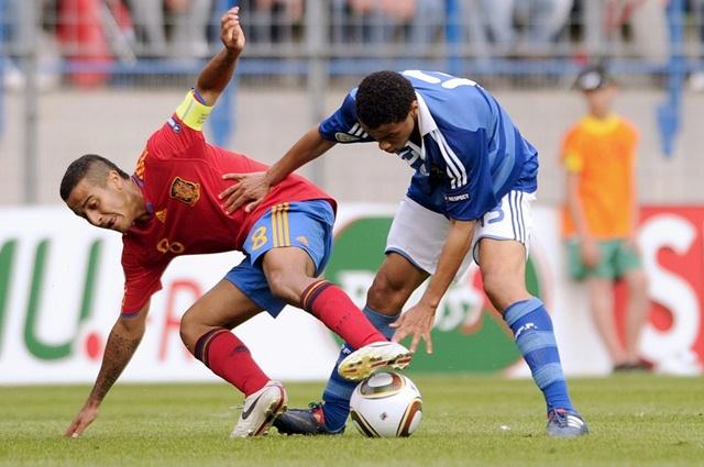 Тьяго Алькантара в сборной Испании до 21