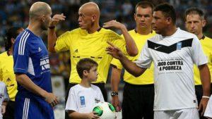 Друзья Зидана против друзей Роналдо