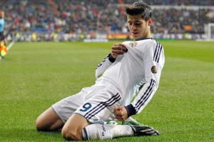 Видео. Альваро Мората. Все голы за Реал Мадрид