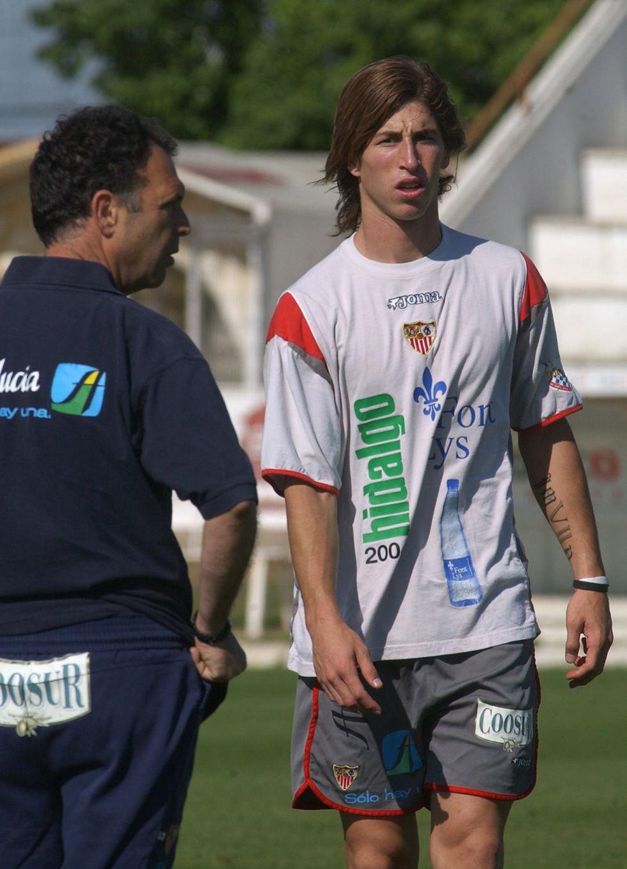 Серхио Рамос в Севилье