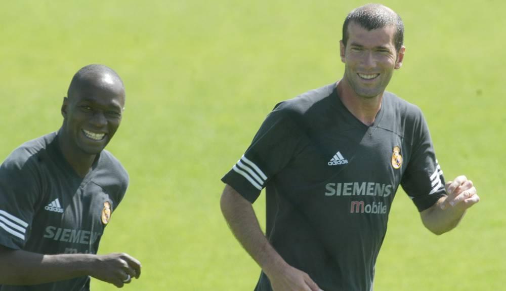 Зидан и Клод Макелеле в Реал Мадриде