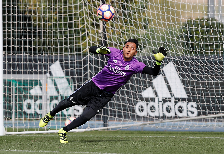 Кейлор Навас Реал Мадрид Тренировка