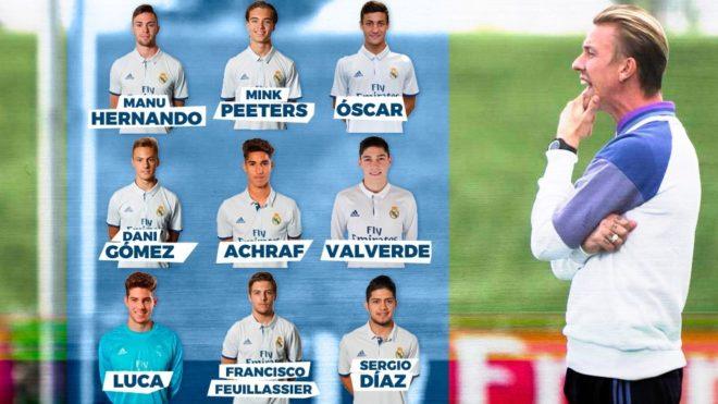 Кантера Реал Мадрид