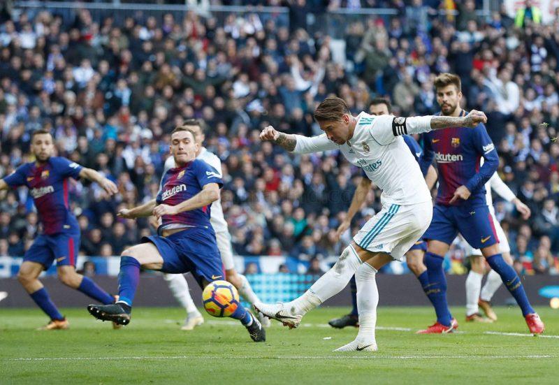 Серхио Рамос против Барселоны