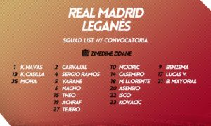 Реал Мадрид – Леганес, превью